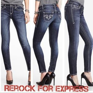 Re-rock by Express skinny jeans